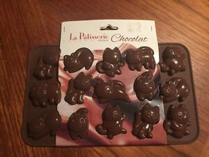 La Pâtisserie Silicone Chocolate Mould  - Cats (Never used)