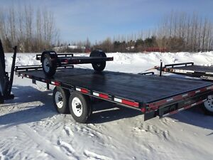 """New"" Rainbow  20' Deck Over HD Equipment Trailer"
