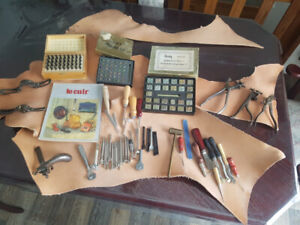 outils travail  cuirs artisanat