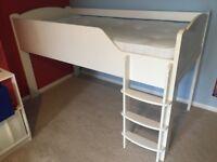 Aspace single mid-sleeper bed