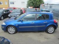 2007 Renault Megane Hatch 5Dr 1.5dCi 86 Dynamique Diesel blue Manual