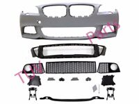 BMW 5' F10 2010>2013 Front Bumper M Sport Style + Headlight Washer & PDC Holes