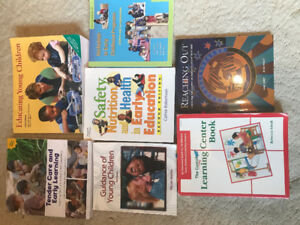 7 Early Childhood Textbooks - in excellent condition