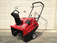 """Like New - Craftsman 22"""" Snow Blower with Electric Start"""
