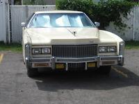 1976 Cadillac Eldorado Coupé (2 portes) couleur Ivoire
