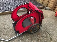 Kids double bike trailer