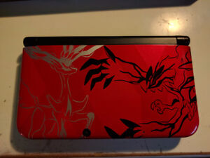 Nintendo 3DS XL Pokemon XY Limited Edition Red