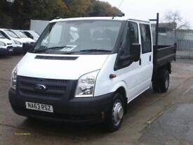 Ford Transit D/Cab Chassis Tdci 100Ps [Drw] Euro 5 DIESEL MANUAL WHITE (2013)