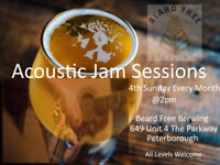 Open Acoustic Jam Sessions