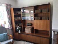 G plan retro mid century modern unit sideboard dresser teak