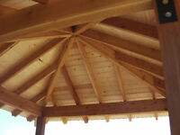 SPECIALTY TIMBER FRAME PROJECTS--CALL BILL 250-468-9993