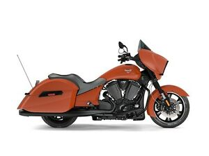 2017 Victory Cross Country Suede Nuclear Sunset Orange