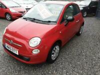 2010 Fiat 500 1.2 POP-ONLY 71K-£30 ROAD TAX-METALLIC RED-IDEAL 1st TIME CAR,,,,,