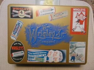 RARE1995  WRIGLEY'S GUM LARGE COLLECTORS TIN