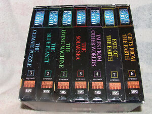 Planet Earth Documentary 7 Tape Set (VHS) - $5.00