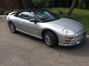 2003 Mitsubishi Eclipse Convertible mint !