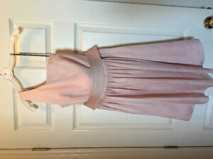 Vera Wang knee length blush gown (with pockets!)