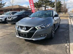 2017 Nissan Maxima SL, LEATHER, SUNROOF, NAVIGATION