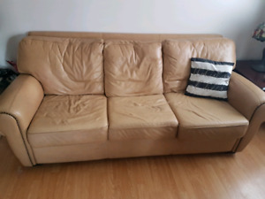 RAWHIDE COUCH