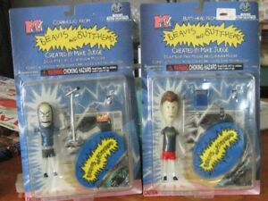 Beavis and Butt head,1990s,sealed figuers,by Moore,CIB