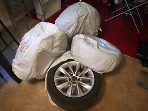 BMW X3 f25 OEM rims and tires 18''