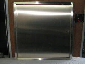 """(2) New Architectural Stainless Steel Access Doors (24"""" x 24"""")"""