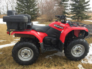 2008 Yamaha Kodiak Grizzly 450 Quad - like new ATV