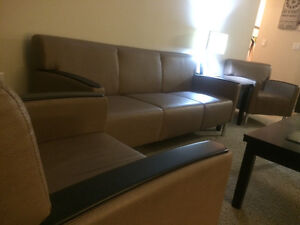 2 chairs and couch