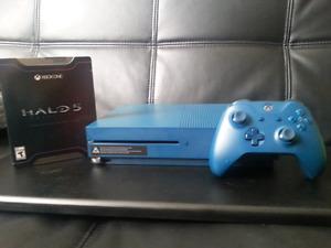 Xbox One S  500 g  avec Halo 5 + 20 jeux xbox  rétrocompatible