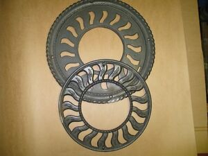 antique cast iron floor vent West Island Greater Montréal image 1