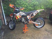 Ktm sxf exc super moto wheels