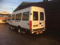 57 REG 2007 IRIS BUS IVECO DAILY 16 SEATER LWB 1 OWNER 94,000 MILES F/S/H NO VAT