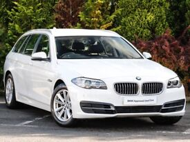 2014 BMW 520d Touring ( estate ) Auto with BMW Warranty, MOT Protect and Breakdown cover.