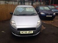 2006 FIAT GRAND PUNTO 1.2 ONLY 81000 MILES £1495!!