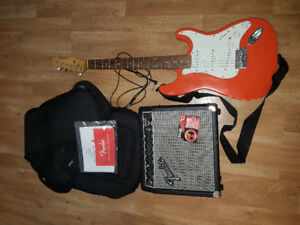 Fender electric guitar starter set