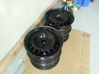 2014 Cruze Steel Wheels/Rims (16X6.5 inch rims)
