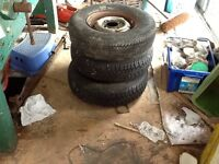 Mini wheel and tyre