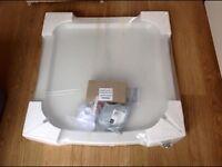 Shower Tray (White) 'Roklite' By Jacuzzi 800 x 800 Brand New £110