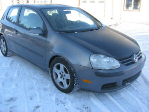 2007 VW Rabbit 2,5l  5cly (2 door) safety e-tested $3950 mint