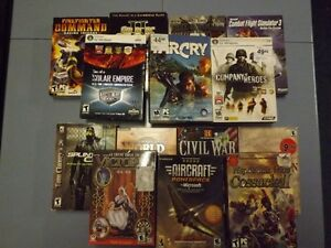 Large Selection of PC Games