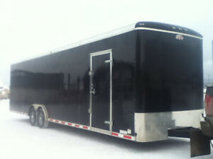 2016 Forestriver 32' enclosed trailer