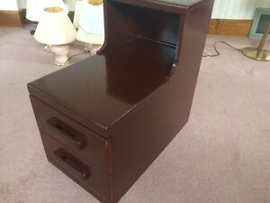 Vintage Solid Maple Nightstand London Ontario image 2