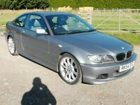 BMW 3 Series 330CD E46 – Automatic – New Turbo and Gearbox – 255+BHP