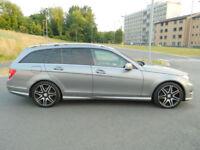 2012 (62) Mercedes-Benz C350 3.0CDI ( 261bhp ) 7G-Tronic Plus CDI AMG Sport