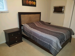 Moving sale! Queen sized bed set for sale $250 OBO
