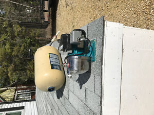 GRUNDFOS Water pump & Pressure Tank