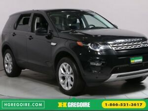 2016 Land Rover DISCOVERY SPORT HSE A/C MAGS BLUETOOTH CAMERA RE