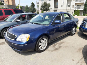2005 FORD 500  ONLY 130,000 KMS  NO ACCIDENTS  LOADED