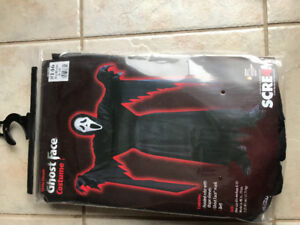 Children costume -  Ghost Face Size 8-10