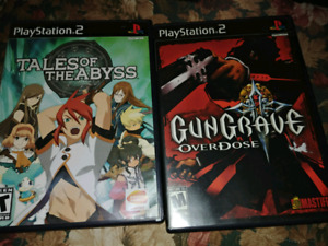 Ps2, ps1, and xbox games